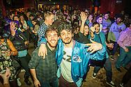 Lady Vendredi & The Vendettas-Voodoo Grace Jones! + Badger Badger Band-9 Piece Psychedelic Disco + Johnny Voltik + Badger Samba-Carnival Drum Procession. (Photo/Ivan Gonzalez)