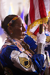 Julia Kelly and company present the colors, White House Tribal Nations Summit, December 2012.