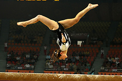 Jordan Rae of New Zealand during the women's individual all round gymnastics competition held at the Indira Gandhi Sports Complex in New Delhi, India on the 6 October 2010..Photo by:  Ron Gaunt/SPORTZPICS/PHOTOSPORT