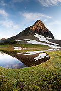 Mt Cannon near Hidden Lake overlook, Glacier National Park.