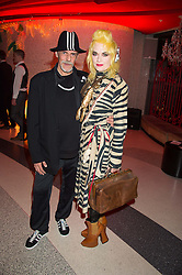 Left to right, JUDY BLAME and PAM HOGG at the 3rd anniversary party of Sushisamba at the Heron Tower, 110 Bishopsgate, City of London on 10th November 2015.