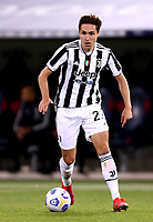 BOLOGNA, ITALY - MAY 23: Federico Chiesa of Juventus FC in action ,during the Serie A match between Bologna FC and Juventus FC at Stadio Renato Dall'Ara on May 23, 2021 in Bologna, Italy.(Photo by MB Media/Getty Images)
