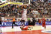 DESCRIZIONE : Pistoia Lega serie A 2013/14 Giorgio Tesi Group Pistoia Victoria Libertas Pesaro<br /> GIOCATORE : johnson jajuan<br /> CATEGORIA : schiacciata<br /> SQUADRA : Giorgio Tesi Group Pistoia<br /> EVENTO : Campionato Lega Serie A 2013-2014<br /> GARA : Giorgio Tesi Group Pistoia Victoria Libertas Pesaro<br /> DATA : 24/11/2013<br /> SPORT : Pallacanestro<br /> AUTORE : Agenzia Ciamillo-Castoria/GiulioCiamillo<br /> Galleria : Lega Seria A 2013-2014<br /> Fotonotizia : Pistoia Lega serie A 2013/14 Giorgio Tesi Group Pistoia Victoria Libertas Pesaro<br /> Predefinita :
