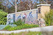Mosaic Tile Wall at Oso Creek Trail