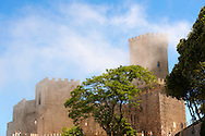 Torretta Pepoli, picturesque castle, Erice, Sicily , colour photo. .<br /> <br /> Visit our SICILY PHOTO COLLECTIONS for more   photos  to download or buy as prints https://funkystock.photoshelter.com/gallery-collection/2b-Pictures-Images-of-Sicily-Photos-of-Sicilian-Historic-Landmark-Sites/C0000qAkj8TXCzro<br /> <br /> <br /> Visit our MEDIEVAL PHOTO COLLECTIONS for more   photos  to download or buy as prints https://funkystock.photoshelter.com/gallery-collection/Medieval-Middle-Ages-Historic-Places-Arcaeological-Sites-Pictures-Images-of/C0000B5ZA54_WD0s