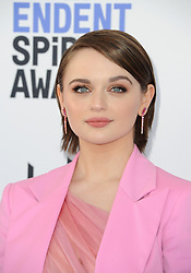 Joey King at the 35th Annual Film Independent Spirit Awards held at the Santa Monica Beach in Santa Monica, USA on February 8, 2020.