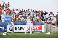 Victor Dubuisson (FRA) plays from the 17th during Round Two of the 2015 Alstom Open de France, played at Le Golf National, Saint-Quentin-En-Yvelines, Paris, France. /03/07/2015/. Picture: Golffile   David Lloyd<br /> <br /> All photos usage must carry mandatory copyright credit (© Golffile   David Lloyd)