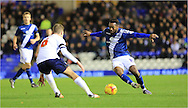 Jacques Maghoma, Josh Vela Birmingham City and Bolton Wanderers at St Andrews, Birmingham, England on 23 February 2016. Photo by Daniel Youngs.