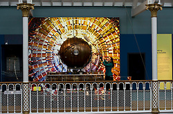 Pictured: Dr Tacye Phillipson, Senior Curator, finishes off the cleaning ofthe Accelerating cavity from CERN's large Electron Positron Collider<br /> <br /> The National Museum of Scotland will launch ten new galleries on 8 July following a £14.1 million redevelopment in their 150th year.  <br /> <br /> Ger Harley   EEm 5 July 2016
