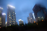 Hochhaeuser in der Naehe des Express Bus Terminal im Zentrum der koreanischen Hauptstadt Seoul. <br /> <br /> Apartment tower close  to the Express Bus Terminal in the city center of the Korean capital Seoul.