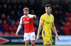 Ollie Clarke of Bristol Rovers looks on - Mandatory by-line: Matt McNulty/JMP - 27/04/2019 - FOOTBALL - Highbury Stadium - Fleetwood, England - Fleetwood Town v Bristol Rovers - Sky Bet League One