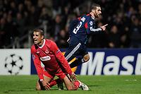 FOOTBALL - CHAMPIONS LEAGUE 2010/2011 - GROUP STAGE - GROUP B - OLYMPIQUE LYONNAIS v HAPOEL TEL AVIV - 7/12/2010 - GOAL LISANDRO (OL) - PHOTO FRANCK FAUGERE / DPPI