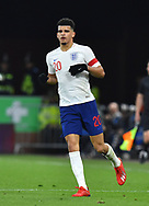 Doninic Solanke of England U21's during the U21 International match between England and Germany at the Vitality Stadium, Bournemouth, England on 26 March 2019.