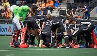 AMSTELVEEN - Spelers van Duitsland tijdens de finale van het EK Hockey tussen Duitsland en Nederland in het Wagener Stadion op 12 juni 2021 in Amstelveen. COPYRIGHT KOEN SUYK