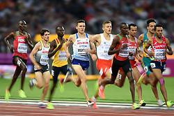 Jake Wightman of Great Britain in action - Mandatory byline: Patrick Khachfe/JMP - 07966 386802 - 11/08/2017 - ATHLETICS - London Stadium - London, England - Men's 1500m Semi-Final - IAAF World Championships