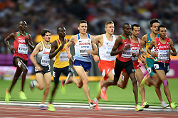 Jake Wightman of Great Britain in action - Mandatory byline: Patrick Khachfe/JMP - 07966 386802 - 11/08/2017 - ATHLETICS - London Stadium - London, England - Men's 1500m Semi-Final - IAAF World Championships