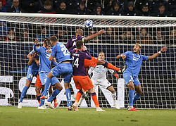 October 2, 2018 - Sinsheim, Germany - Vincent Kompany 4; seen in action during the UEFA Champions League group F football match between TSG 1899 Hoffenheim and Manchester City at the Rhein-Neckar-Arena. (Credit Image: © Elyxandro Cegarra/SOPA Images via ZUMA Wire)