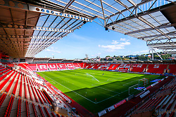 A general view of the Aesseal New York Stadium, home to Rotherham United - Mandatory by-line: Ryan Crockett/JMP - 19/09/2020 - FOOTBALL - Aesseal New York Stadium - Rotherham, England - Rotherham United v Millwall - Sky Bet Championship