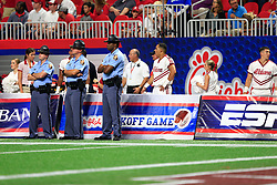 General, unedited images during the Chick-fil-A Kickoff NCAA football game between the Florida State Seminoles and the Alabama Crimson Tide on Saturday, September 2, 2017, in Atlanta. Alabama won 24-7. (Paul Abell via Abell Images for Chick-fil-A Kickoff Game)