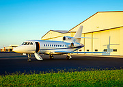 Dassault Falcon 900B, photographed at Piedmont Triad International Airport in Greensboro, North Carolina.<br /> <br /> Created by aviation photographer John Slemp of Aerographs Aviation Photography. Clients include Goodyear Aviation Tires, Phillips 66 Aviation Fuels, Smithsonian Air & Space magazine, and The Lindbergh Foundation.  Specialising in high end commercial aviation photography and the supply of aviation stock photography for advertising, corporate, and editorial use.