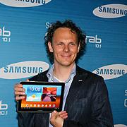 NLD/Amsterdam/20110823 - Presentatie Samsung Galaxy Tab, Ben van der Burg
