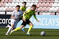 Elliot Newby. Boreham Wood FC 0-3 Stockport County. Vanarama National League. Meadow Park. 24.4.21