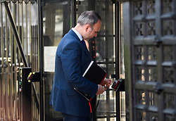 © Licensed to London News Pictures. 15/05/2019. London, UK. Downing Street Chief of Staff GAVIN BARWELL is seen arriving at the Houses of Parliament in Westminster, London. Government has announced that MPs will get another chance to vote on Theresa May's Brexit Bill in early June, after EU parliament elections. Photo credit: Ben Cawthra/LNP