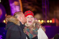 Martin Condor and Sarah Coles. Edinburgh's Hogmanay 2019