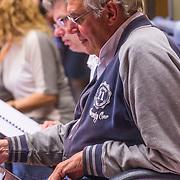 NLD/Hilversum/20130930 - Repetitie Metropole Orkest voor concert, Dick Bakker