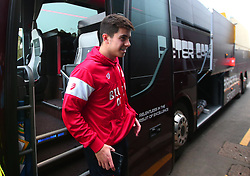 Liam Walsh of Bristol City arrives at Vicarage Road for the FA Cup third round tie against Watford - Mandatory by-line: Robbie Stephenson/JMP - 06/01/2018 - FOOTBALL - Vicarage Road - Watford, England - Watford v Bristol City - Emirates FA Cup third round proper