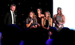 Bristol City Women's Football are interviewed on stage at Bristol Sport's Annual Gala Dinner at Ashton Gate Stadium - Mandatory by-line: Robbie Stephenson/JMP - 08/12/2016 - SPORT - Ashton Gate - Bristol, England  - Bristol Sport Gala Dinner
