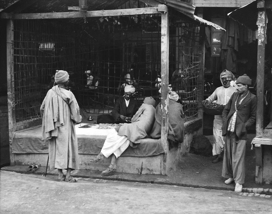 Banker, Peshawar, India, 1929