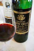 2002 in a glass chateau trottevieille saint emilion bordeaux france