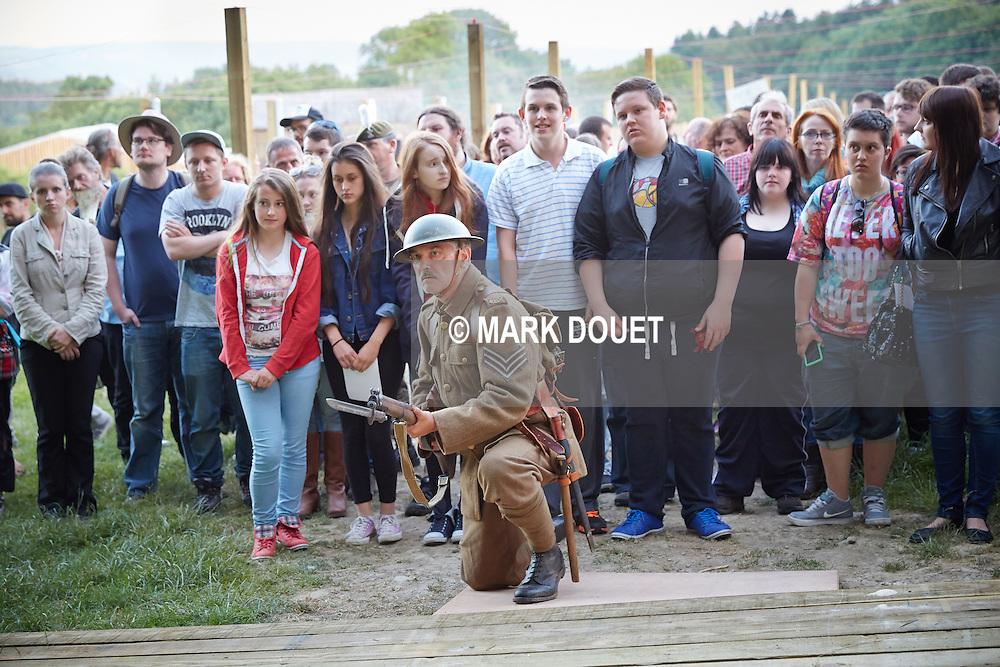 Mametz by National Theatre Wales. Director<br /> Matthew Dunster