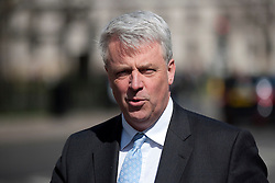 © Licensed to London News Pictures. 16/04/2012. LONDON, UK. The Secretary of State for Health and Conservative Member of Parliament Andrew Lansley in Westminster today (16/04/12). Photo credit: Matt Cetti-Roberts/LNP
