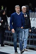 DESCRIZIONE : Bologna Lega A 2015-16 Obiettivo Lavoro Virtus Bologna - Umana Reyer Venezia<br /> GIOCATORE : Claudio Albertini<br /> CATEGORIA : VIP<br /> SQUADRA : Umana Reyer Venezia<br /> EVENTO : Campionato Lega A 2015-2016<br /> GARA : Obiettivo Lavoro Virtus Bologna - Umana Reyer Venezia<br /> DATA : 04/10/2015<br /> SPORT : Pallacanestro<br /> AUTORE : Agenzia Ciamillo-Castoria/GiulioCiamillo<br /> <br /> Galleria : Lega Basket A 2015-2016 <br /> Fotonotizia: Bologna Lega A 2015-16 Obiettivo Lavoro Virtus Bologna - Umana Reyer Venezia