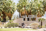 Palm Springs Welcome Sign
