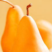 Artistic bundle of pears