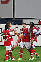20111103 Braga: SC Braga vs. NK Maribor, UEFA Europa League, Group H, 4th round. In picture: Fran Merida scores for Braga. Photo: Pedro Benavente/Cityfiles