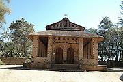 Africa, Ethiopia, Gondar, exterior of the Church of Debre Birhan Selassie