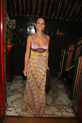 ANDREA DELLAL at a dinner hosted by fashion label Issa at Annabel's, Berekely Square, London on 24th April 2007.<br /><br />NON EXCLUSIVE - WORLD RIGHTS