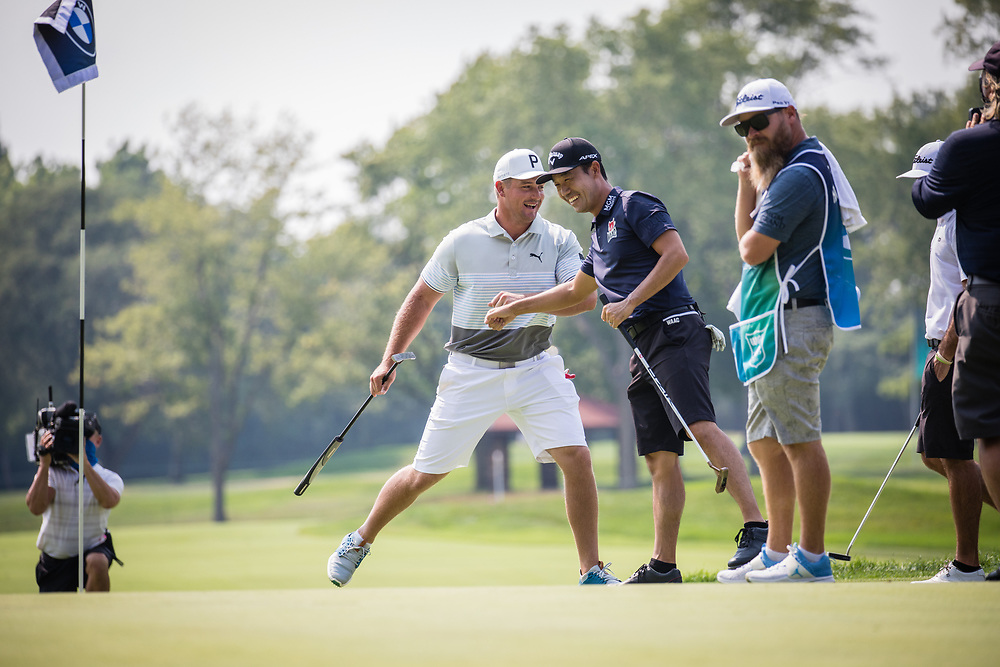Picture from practice rounds at the BMW Championship Golf Tournament at Olympia Fields GC on Wednesday Aug. 26, 2020<br /> WGAESF/Charles Cherney