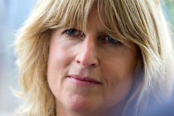 © Licensed to London News Pictures. 02/10/2018. Birmingham, UK. Rachel Johnson leaves the Conservative party conference today after her brother Boris's speech at the International Convention Centre in Birmingham. Photo credit: Andrew McCaren/LNP