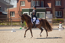 Roth Antonia, GER, Daily Pleasure WE<br /> CDI3* Opglabbeek<br /> © Hippo Foto - Sharon Vandeput<br /> 23/04/21