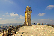 The Mosque at Nebi Samwil or Tomb of Samuel in the outskirts of Jerusalem Israel