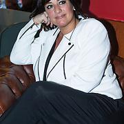 NLD/Amsterdam/201400413 - Aankondiging Jazzfestival Amsterdam Arena met optreden Jules Deelder, Therese Boer