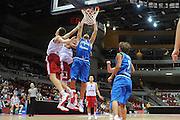 Danzica - Polonia 03 Agosto 2012 - TORNEO INTERNAZIONALE SOPOT CUP - Italia Lettonia<br /> Nella Foto : ANGELO GIGLI<br /> Foto Ciamillo