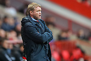 Doncaster Rovers manager Grant McCann during the The FA Cup 2nd round match between Charlton Athletic and Doncaster Rovers at The Valley, London, England on 1 December 2018. Photo by Toyin Oshodi