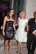 ELIZABETH HURLEY; BEATRICE VINCENZINI;  Valentino: Master of Couture - private view. Somerset House, London. 28 November 2012
