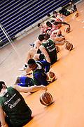 Biella, 14/12/2012<br /> Basket, All Star Game 2012<br /> Allenamento Nazionale Italiana Maschile <br /> Nella foto: team<br /> Foto Ciamillo
